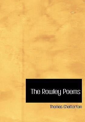 The Rowley Poems 9780554244860