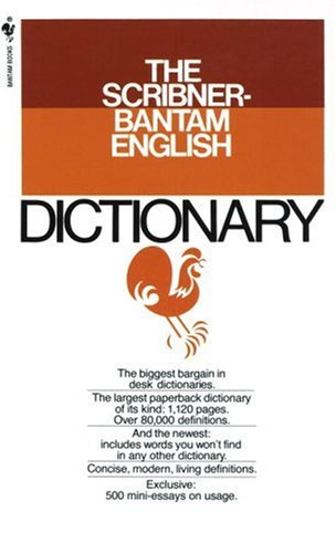 The Scribner-Bantam English Dictionary 9780553264968