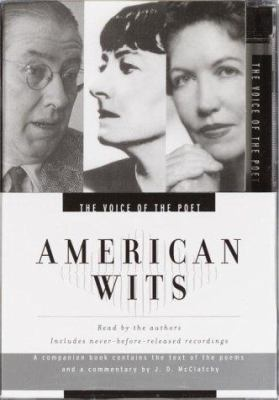 Voice of the Poet: American Wits: Ogden Nash, Dorothy Parker, Phyllis McGinley 9780553756630