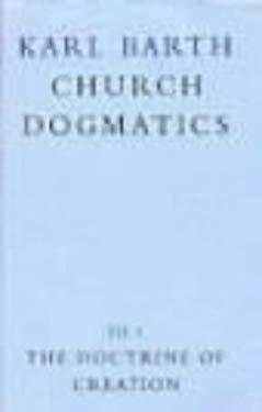 Church Dogmatics 9780567090317