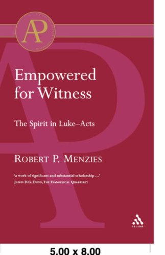 Empowered for Witness 9780567041906