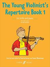 The Young Violinist's Repertoire, Bk 1
