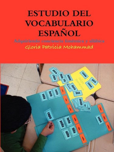 Estudio del Vocabulario Espaol 9780578035819
