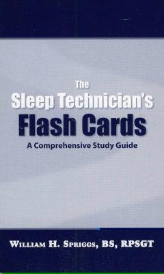 Sleep Technician's Flash Cards 9780578019543