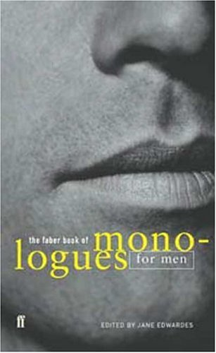 The Faber Book of Monologues for Men 9780571217649