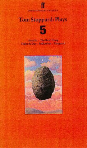 Tom Stoppard: Plays 5: Aracadia, the Real Thing, Night & Day, Indian Ink, Hapgood 9780571197514