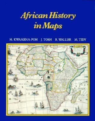 African History in Maps 9780582603318