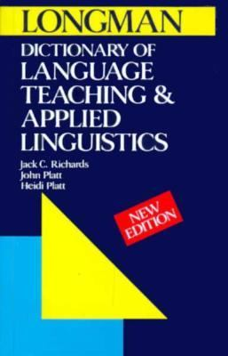 Dictionary of Language Teaching and Applied Linguistics 9780582072442