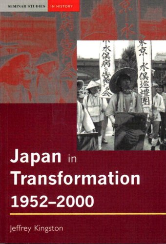 Japan in Transformation, 1952-2000 9780582418752