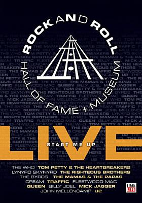 Rock & Roll Hall of Fame Live: Start Me Up