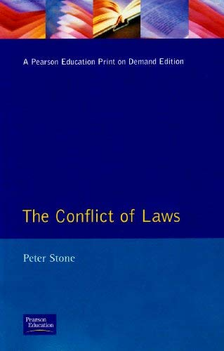 The Conflict of Laws 9780582083806