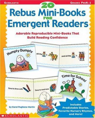 20 Rebus Mini-Books for Emergent Readers 9780590513272