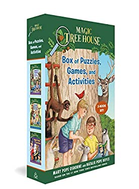 Magic Tree House Box of Puzzles, Games, and Activities (3 Book Set) (Magic Tree House (R))