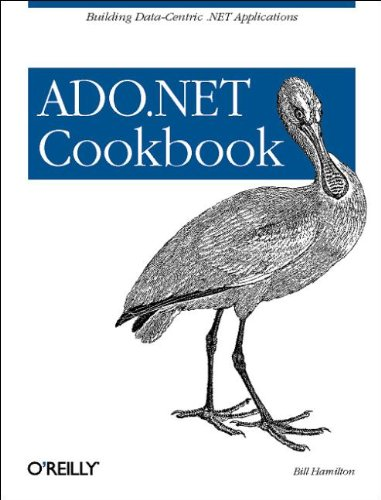 ADO.NET Cookbook 9780596004392