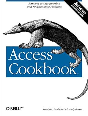 Access Cookbook [With CDROM] 9780596006785