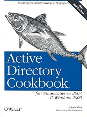 Active Directory Cookbook 9780596004644