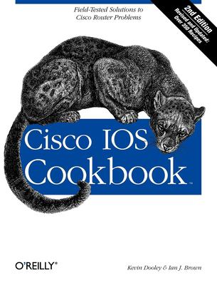 Cisco IOS Cookbook 9780596527228