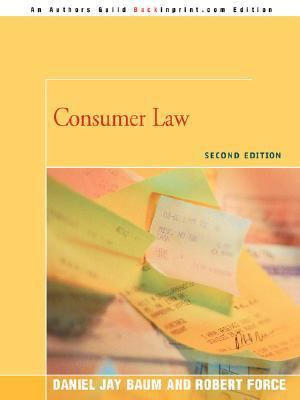Consumer Law: Second Edition 9780595477098