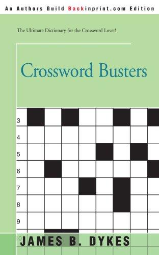 Crossword Busters 9780595196715