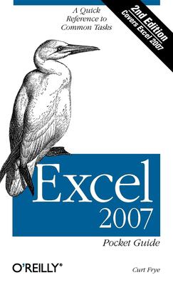 Excel 2007: Pocket Guide 9780596514525