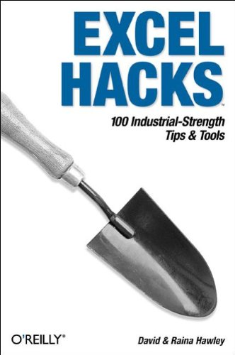 Excel Hacks: 100 Industrial-Strength Tips & Tools 9780596006259