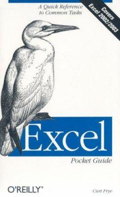 Excel Pocket Guide 9780596005344