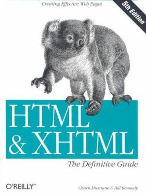 HTML and XHTML, the Definitive Guide 9780596003821