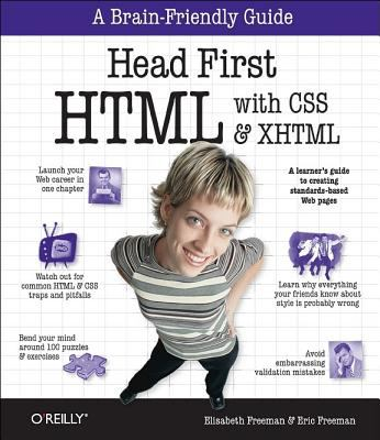 Head First HTML with CSS & XHTML 9780596101978