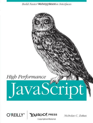 High Performance JavaScript 9780596802790