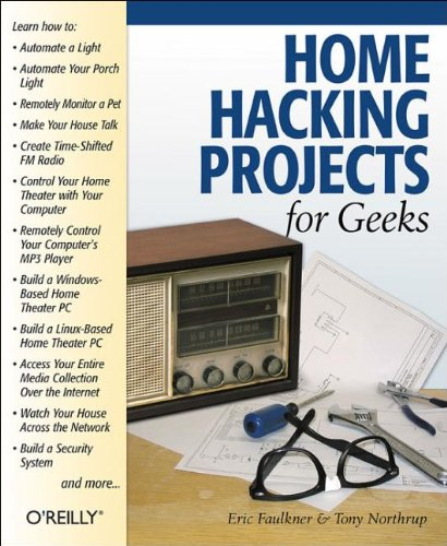 Home Hacking Projects for Geeks 9780596004057