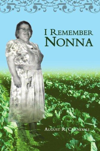I Remember Nonna 9780595450305