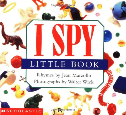 I Spy Little Book 9780590341295