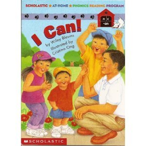 I can (Scholastic at-home phonics reading program)
