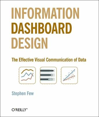 Information Dashboard Design: The Effective Visual Communication of Data 9780596100162