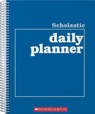 Scholastic Daily Planner 9780590490672