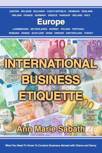 International Business Etiquette: Europe 9780595323319