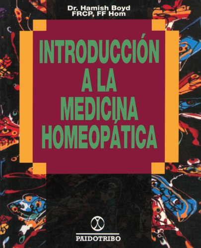 Introduccion a la Medicina Homeopatica