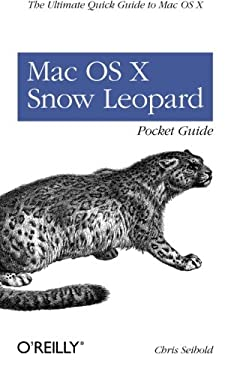 Mac OS X Snow Leopard Pocket Guide 9780596802721