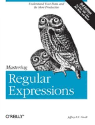 Mastering Regular Expressions 9780596528126