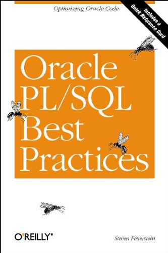 Oracle PL/SQL Best Practices 9780596001216