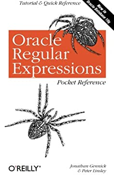 Oracle Regular Expressions Pocket Reference 9780596006013