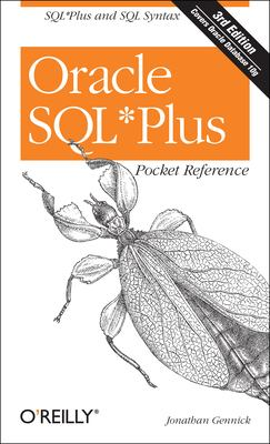 Oracle SQL Plus Pocket Reference 9780596008857