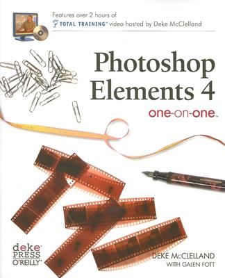 Photoshop Elements 4 One-On-One [With DVD] 9780596100988
