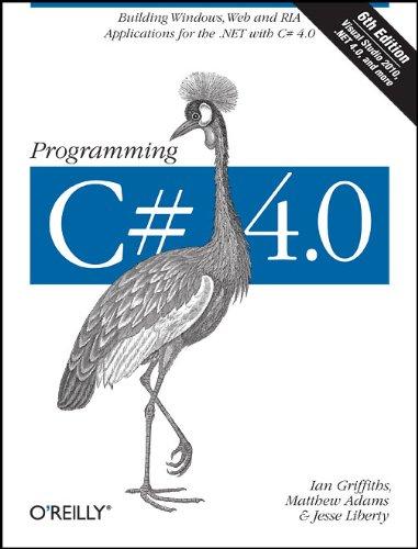 Programming C# 4.0 9780596159832