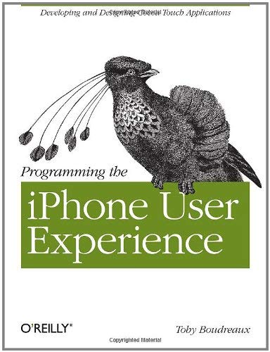 Programming the iPhone User Experience 9780596155469