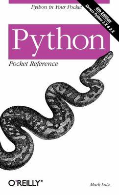 Python Pocket Reference 9780596158088