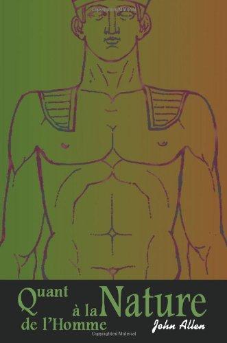Quant a la Nature de L'Homme 9780595208661