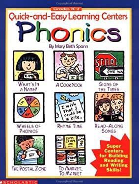 Quick-And-Easy Learning Centers: Phonics 9780590930949