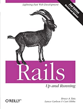 Rails: Up and Running 9780596522001