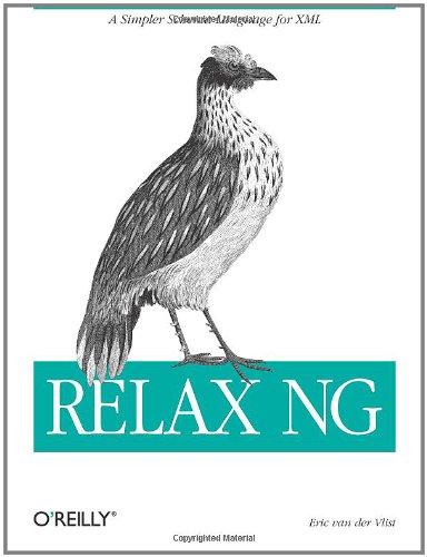 Relax NG 9780596004217